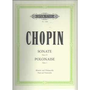 Chopin - Cellosonate g-moll op.65 + Polonaise op.3